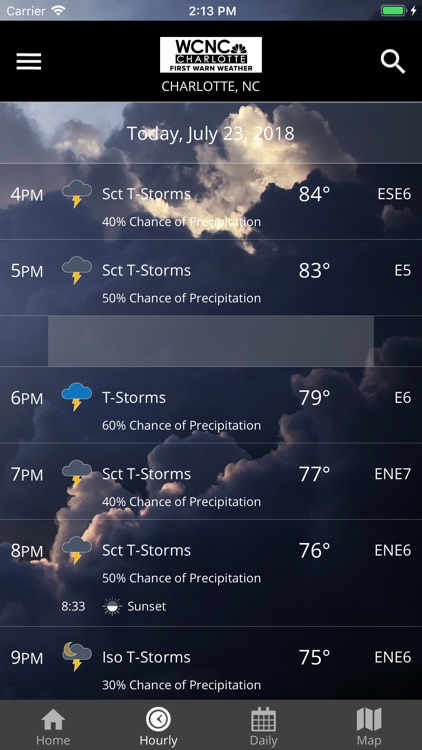 WCNC Charlotte Weather App screenshot-2