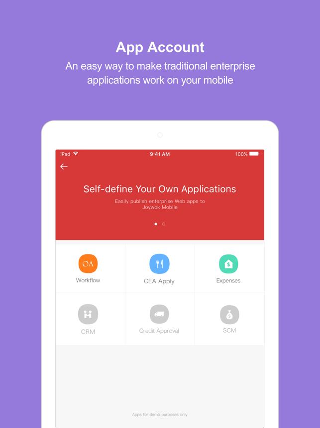 Joywok on the App Store