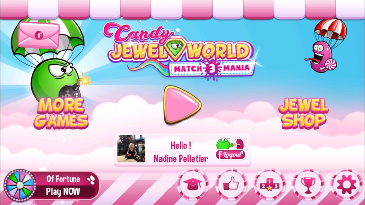 Candy Jewel World screenshot-3