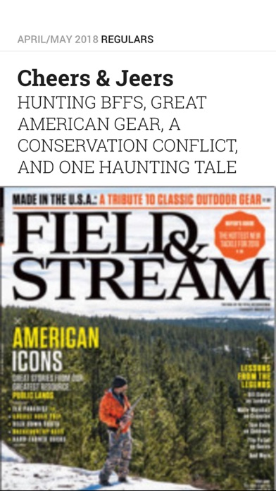 Field & Stream Screenshot