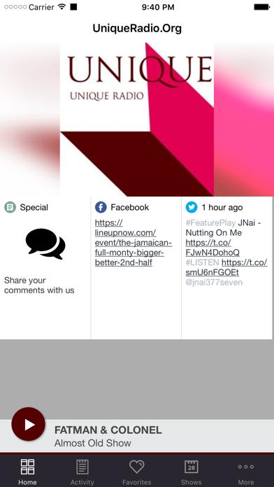 UniqueRadio.Org screenshot one