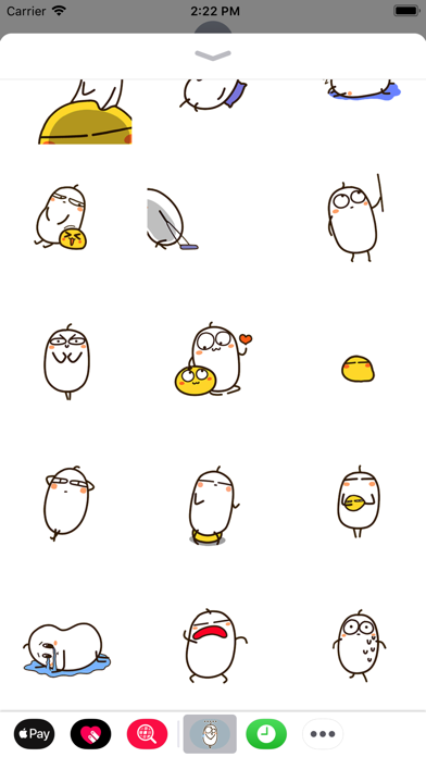 Egg Animated Stickers screenshot two