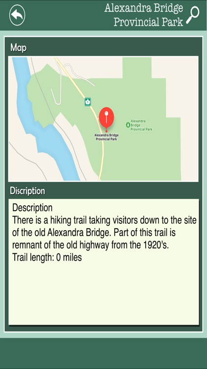 State Parks In Canada screenshot-2