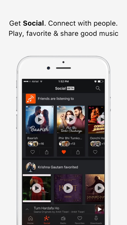 Gaana Music - Songs & Radio screenshot-1
