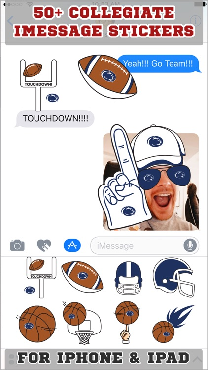 Penn State Nittany Lions Stickers PLUS