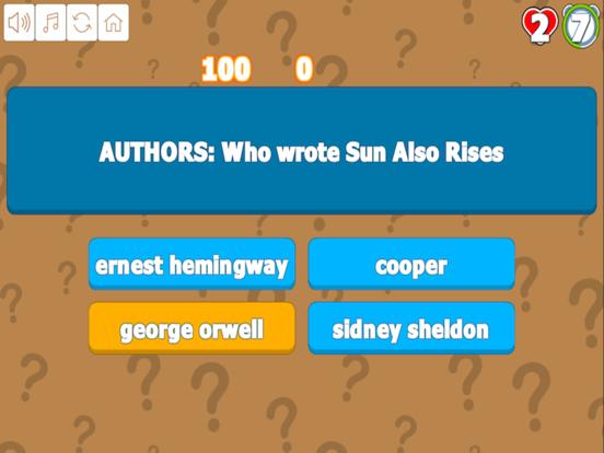 Quiz Your Art and Literature screenshot 6