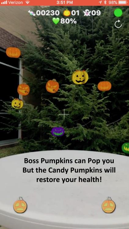 Pumpkin Popper-AR screenshot-3