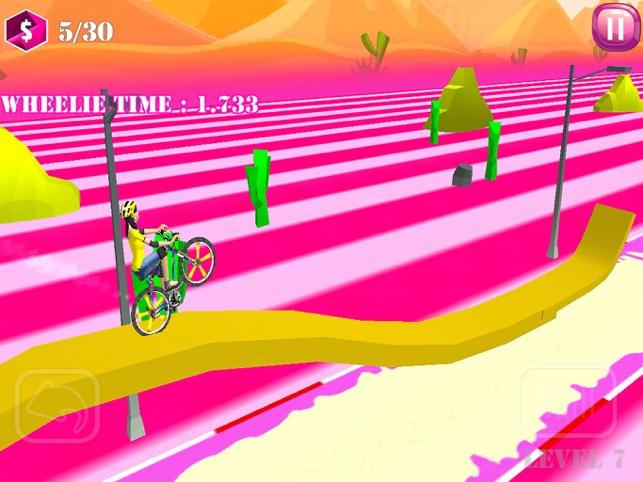Bmx Girl Wheelie Racing, game for IOS