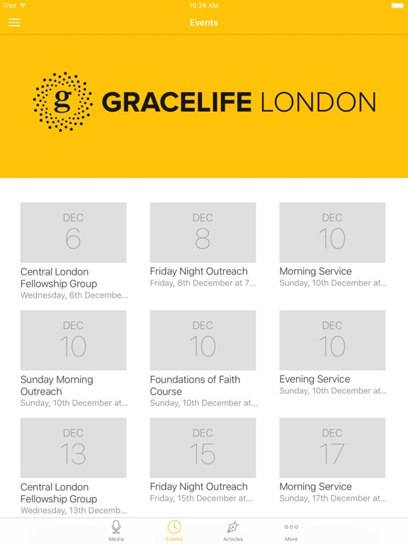 GraceLife London Church App screenshot 5