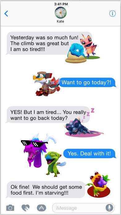 DragonVale World Stickers screenshot 5