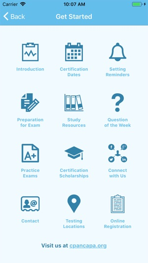 CPAN® CAPA® Certification App on the App Store