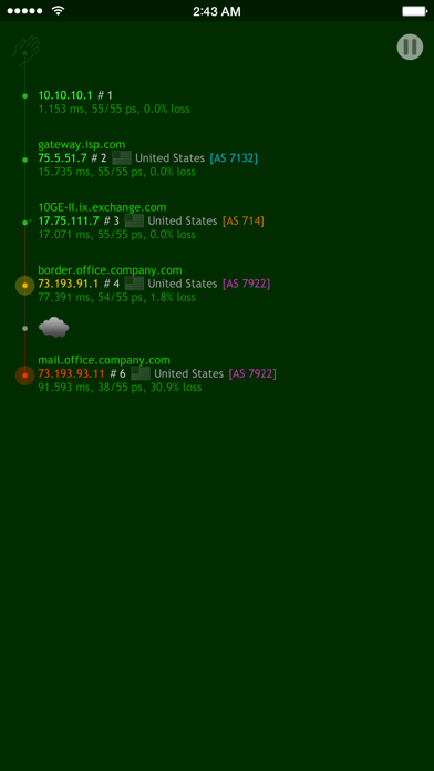 Nice Trace - Traceroute ScreenShot0