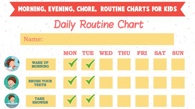 Kids Daily Routine Activities On The App Store