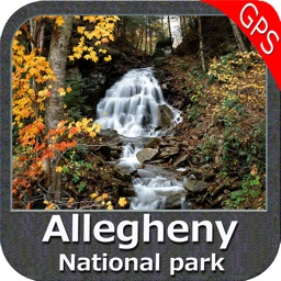 Allegheny National Forest - GPS Map Navigator