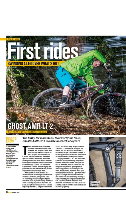 Mountain Bike Rider Magazine