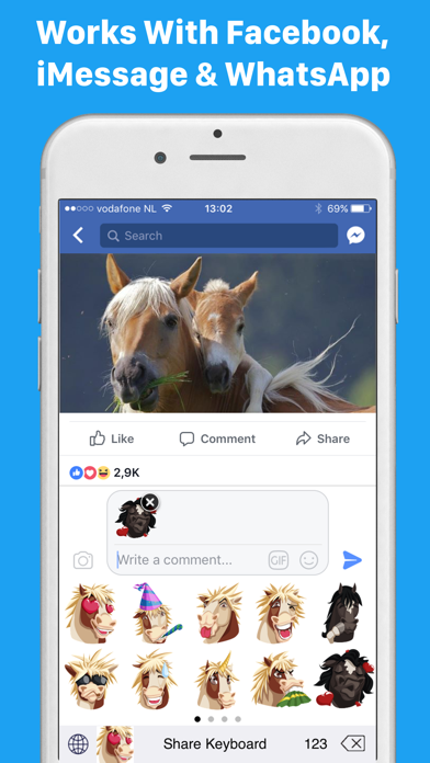 download HorseMoji+ apps 1