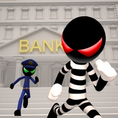 Activities of Stickman Bank Robbery Escape