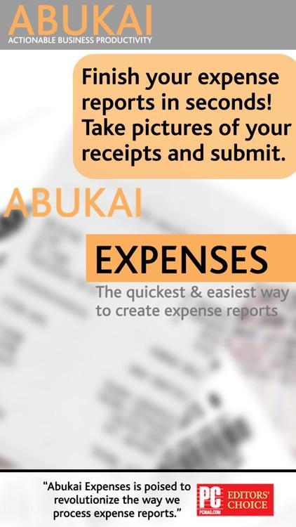 ABUKAI Expense Reports Receipt