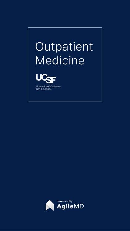 UCSF Outpatient Medicine Handbook