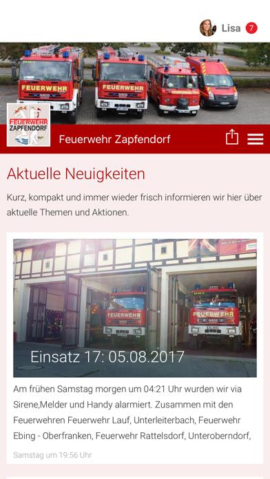 点击获取Feuerwehr Zapfendorf App