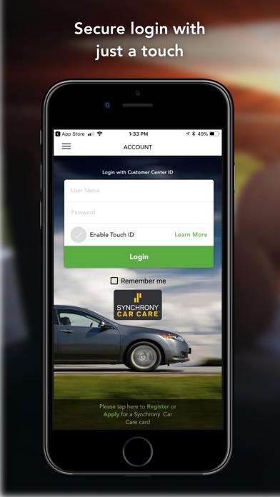 synchrony car care app  android apk