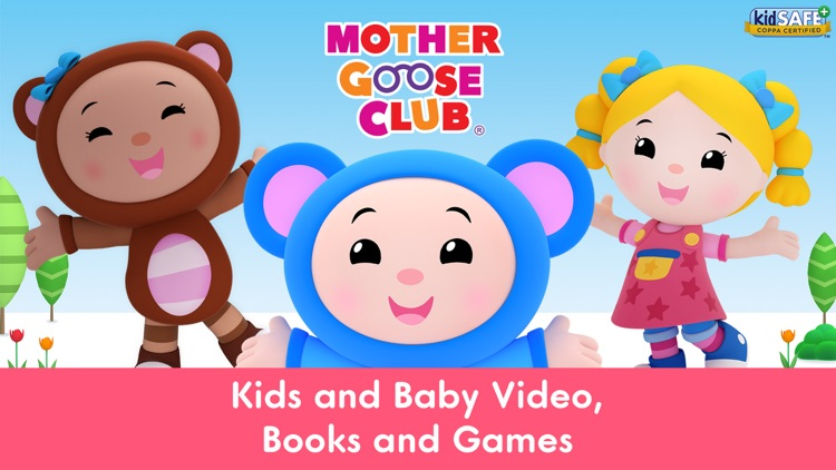Mother Goose Club: Kids & Baby Video, Books, Games screenshot-0