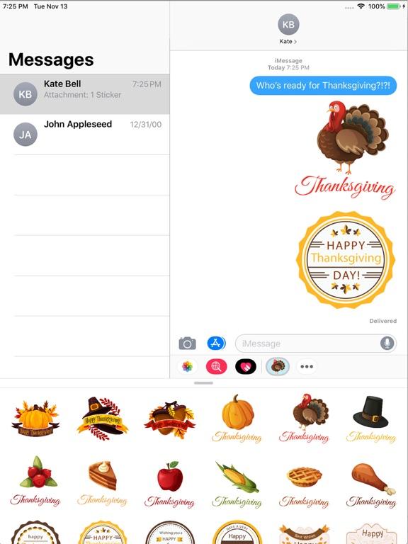 Animated Thanksgiving Holiday screenshot 3