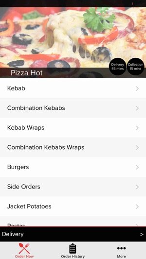 Pizza Hot Daventry On The App Store