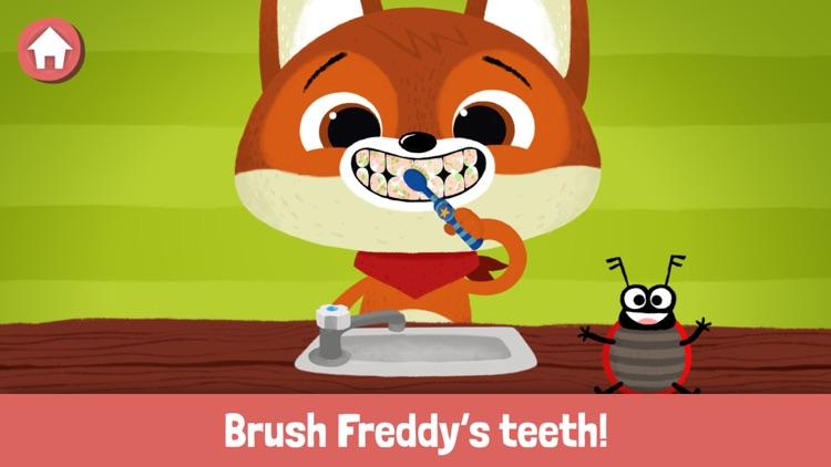 WoodieHoo Brushing Teeth screenshot-4