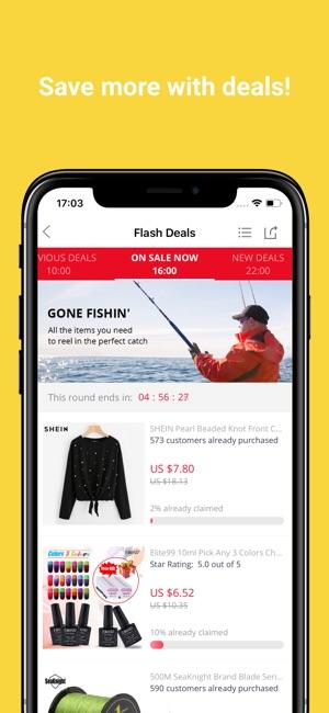 AliExpress Shopping App Screenshot
