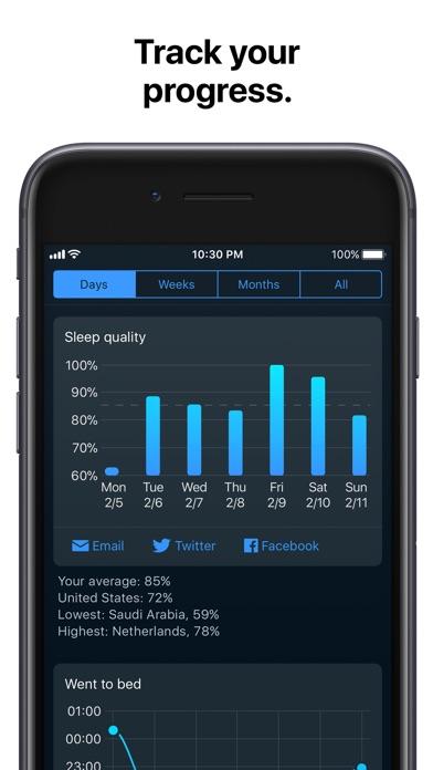 Sleep Cycle alarm clock iPhone