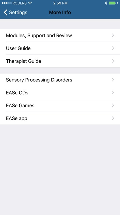 EASe Listening Therapy screenshot-4