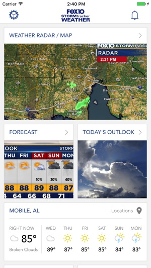 FOX10 Weather Mobile Alabama on the App Store