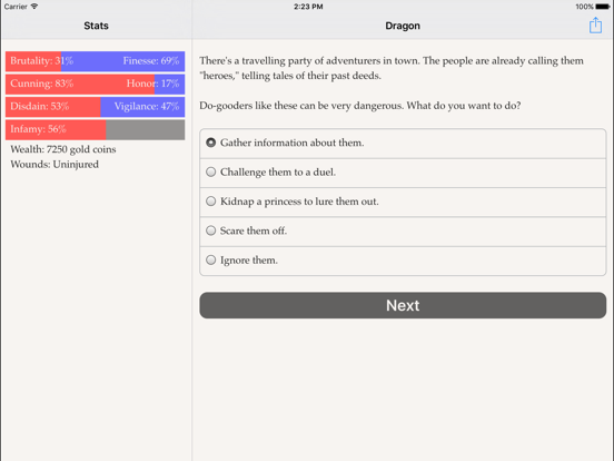 Choice of the Dragon screenshot