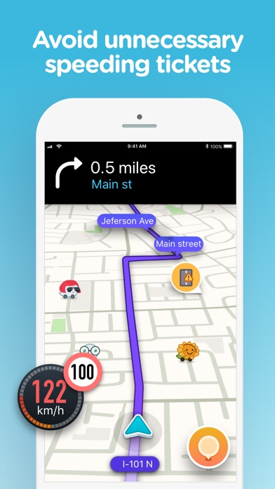Waze social GPS traffic & gas Screenshot 3