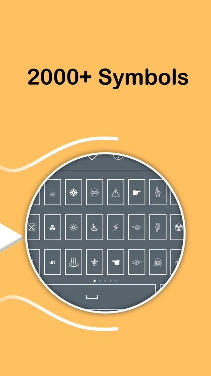 Symbol Keyboard - 2000+ Signs screenshot-3