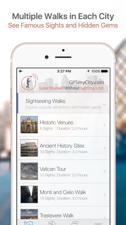Milan Map & Walks (F) screenshot-0