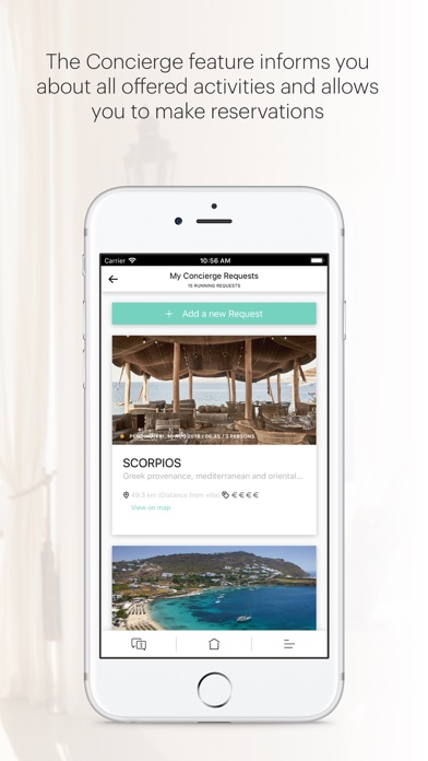 Screenshot of White Key Villas App
