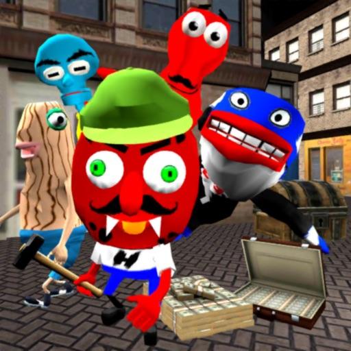 Sponge Simulator. Bottom City iOS App