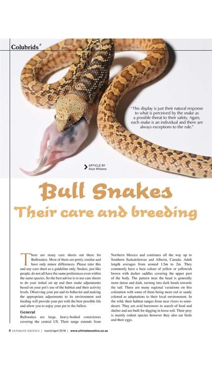Ultimate Exotics Reptile and Exotic pet Magazine