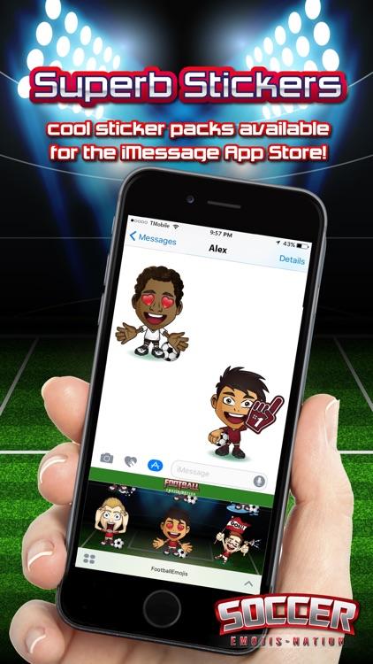 Soccer Emojis Nation screenshot-3