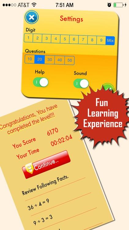 My Math App - Flashcards