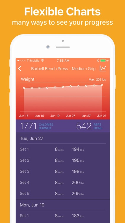 Gymatic Workout Tracker screenshot-8