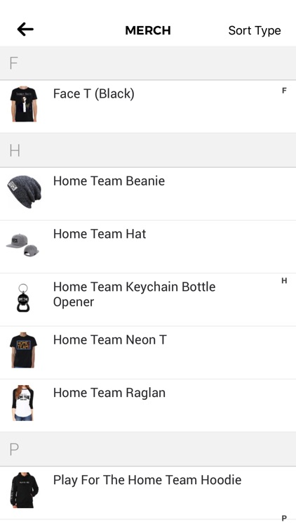 Thomas Rhett's: Home Team App screenshot-2