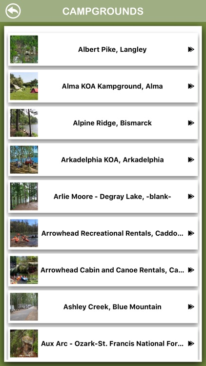 Arkansas Campgrounds Offline screenshot-2