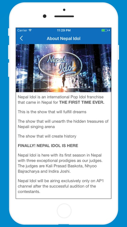 Nepal Idol Finale screenshot-4