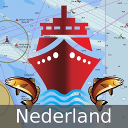 Netherlands: Marine Navigation Charts & Canal Maps