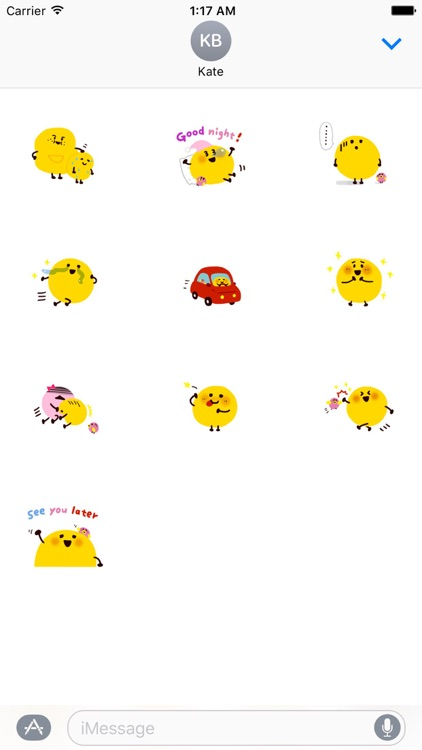 Face Emotion Emoji Sticker