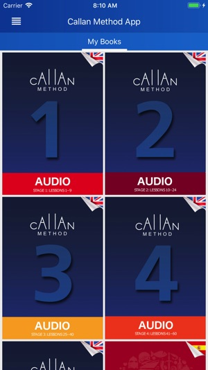 Callan method on the app store fandeluxe Image collections