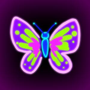 Painty Fingers Glow app